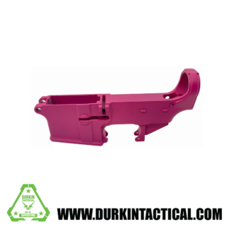 AR-15 80% Cerakote Lower Receiver - Sig Pink