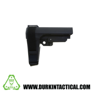 SB Tactical SBA3 Pistol Stabilizing Brace - Black | No Tube
