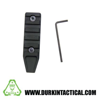 Super Slim 7 Slot KeyMod Black Rail Section
