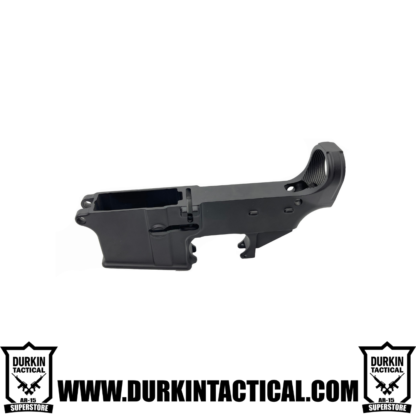 AR-15 80% Cerakote Lower Receiver - Graphite Black