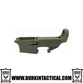 AR-15 80% Cerakote Lower Receiver - OD Green