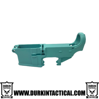AR-15 80% Cerakote Lower Receiver - Robin Egg Blue