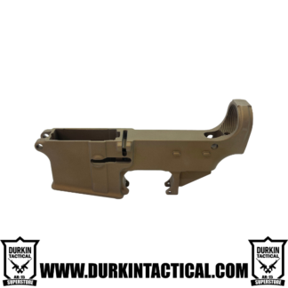 AR-15 80% Cerakote Lower Receiver - Burnt Bronze
