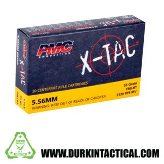 PMC X-TAC 5.56 Nato 55 Grain 20 Round Ammo