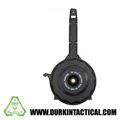 RWB 9mm 50 Round Drum Magazine - Black