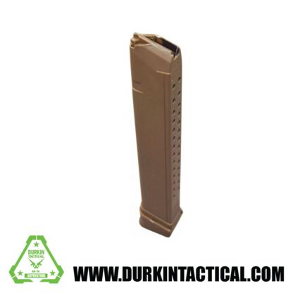 RWB 9mm 33 Round Glock Magazine - Tan