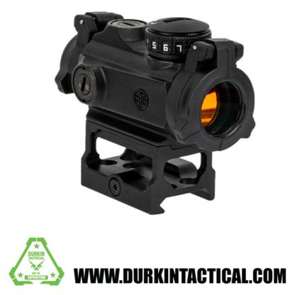 Sig Sauer Romeo MSR; Compact Red-Dot Sight; 1x20mm; 2 MOA Dot; 1 MOA Adj; M1913 mountable; Black