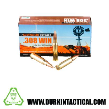 Australian Outback | .308 Winchester | 168 gr. | Sierra MatchKing HBPT - 20 Rounds