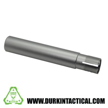 "AR-15 Pistol Buffer Tube, 7.3"" Silver Anodized"