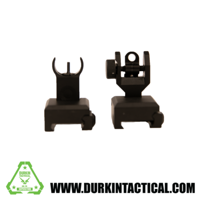 Training Series - Front and Rear Folding Back Up Battle Sights