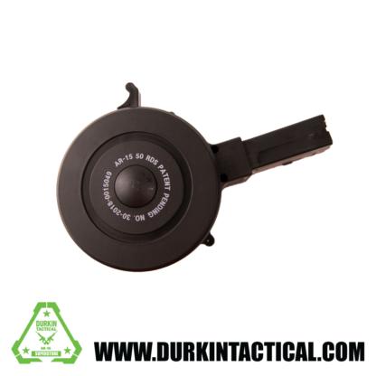 RWB AR-15 .223/5.56 Drum Magazine 50rd Black