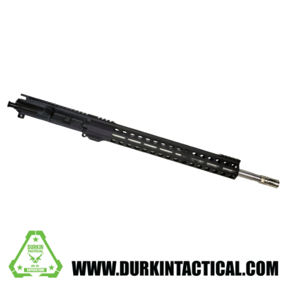 18″ .223/556 Stainless Steel Barrel | Assembled Upper | 1:8 Twist | Forged Upper Receiver | 15″ Handguard | Mid Length Gas System