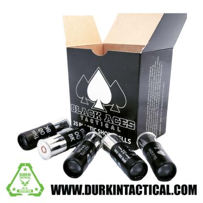 Black Aces Tactical   Buckshot   1.2 oz.   12 Gauge   2.75 inches   25 Cartridges