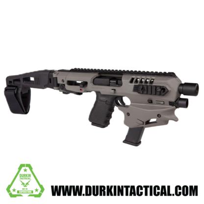 CAA Gen 2 Micro Conversion Kit – Tungsten – Fits Glock 17, 19, 19X, 22, 23, 31, 32, G45