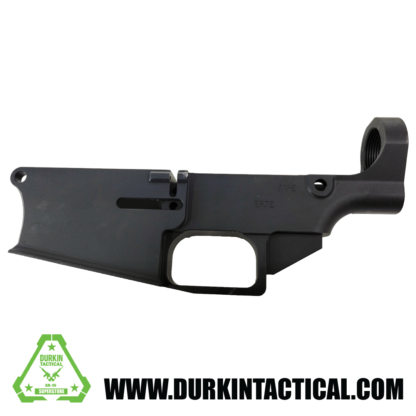 AR-10 80% Lower Receiver Billet Anodized Black