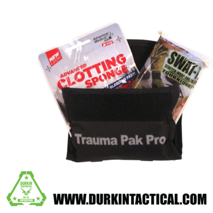 Trauma Pak Pro w/ QuickClot and Swat T