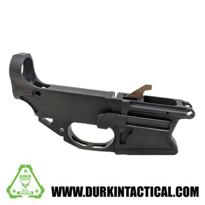 AR-9 80% Lower Receiver Billet Anodized Black 1