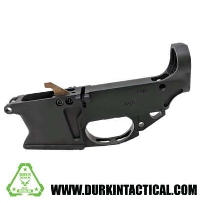 AR-9 80% Lower Receiver Billet Anodized Black