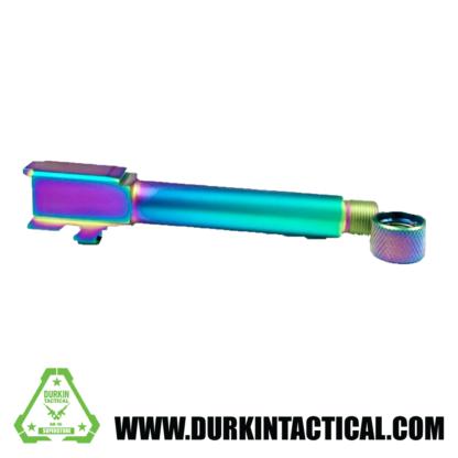 Durkin Precision   9MM Glock 19 Barrel   Radio Active w/ Protector - Threaded