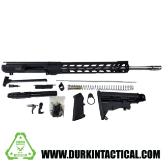"""20"""" .308 Premium Build Kit   Straight Fluted Stainless Steel Barrel   Aero Precision Forged Upper Receiver   15"""" Handguard   Rifle Length Gas System   1:10 Twist"""