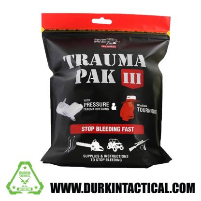 Trauma Pak III w/ Pressure Trauma Dressing & Swat-T Tourniquet