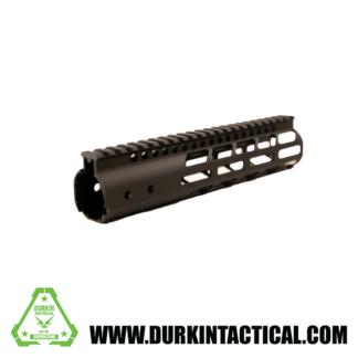 "AR-15 9"" MLOK Handguard, No Barrel Nut - Black"