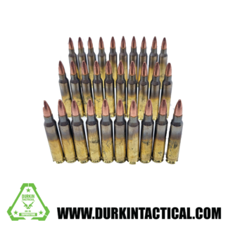 .223 Rem 55 Grain, Full Metal Jacket, Winchester Ammo, 30 Rounds
