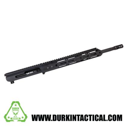 AR-15 Complete Upper Assembly, .223 Wylde, 16″ Parkerized M4 Barrel, 1:8 Twist, Carbine Length Gas System, 12″ Mlok HG, Side Charging Upper