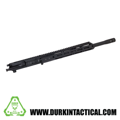 AR-15 Complete Upper Assembly, 16″ 4150 Parkerized Heavy Barrel, .458 SOCOM, Carbine Length Gas System, 1:14 Twist w/ 12″ Rail
