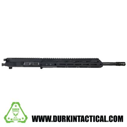 """AR-15 Complete Upper Assembly, 5.56 NATO, 16"""" Parkerized M4 Barrel, 1:7 Twist, Carbine Length Gas System, 12"""" Mlok HG, Billet Upper"""