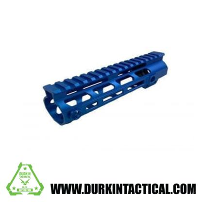 "AR-15 15"" MLOK Handguard, Blue"