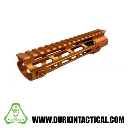 """AR-15 15"""" MLOK Handguard, Orange"""