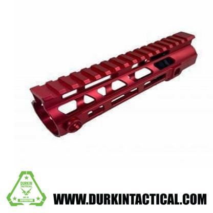 "AR-15 15"" MLOK Handguard, Red"