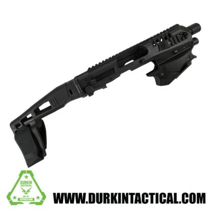 CAA Micro Conversion Kit, Black, Fits Glock 17, 19, 19X, 22, 23, 31, 32, G45