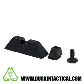 Glock Front/Rear Sights - Black