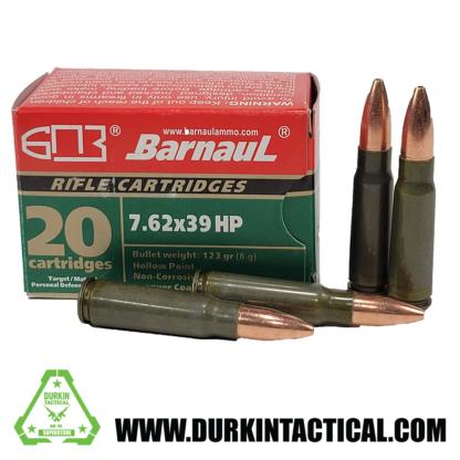 Barnaul 7.62x39 HP 123gr 20rd