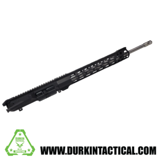 """20"""" .308 Assembled Upper   Stainless Steel Straight Fluted Barrel   1:10 Twist   Rifle Length Gas System   15"""" .308 Handguard"""