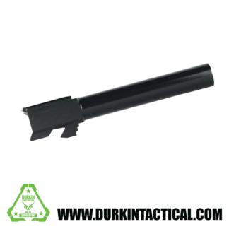 Glock 17 Barrel   Black Nitride   9MM  Unbranded   Unthreaded