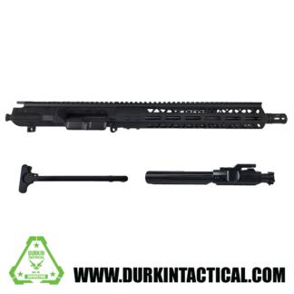 "12.5"" .308 Assembled Upper   Black Nitride Barrel   1:10 Twist   4150 CrMoV   Carbine Length Gas System   12"" .308 Handguard"